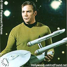 Kirk With Enterprise Model